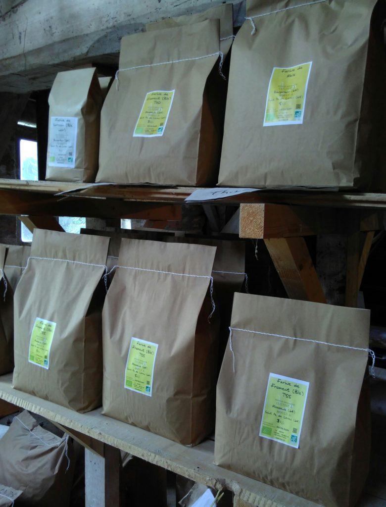 Sachet de farine